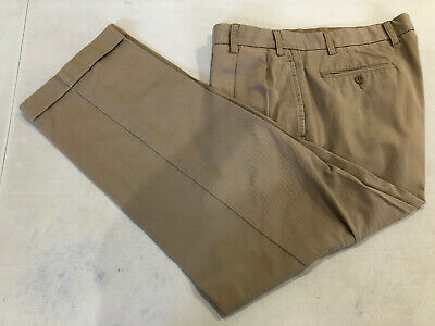 Nautica Men's Beige Cotton Khaki Pants 38X29 $98