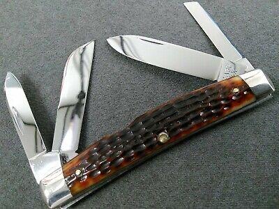 VINTAGE RARE MINT CASE 6488 TRANSITION 1964-1965 BIG CONGRESS BONE KNIFE XX-USA