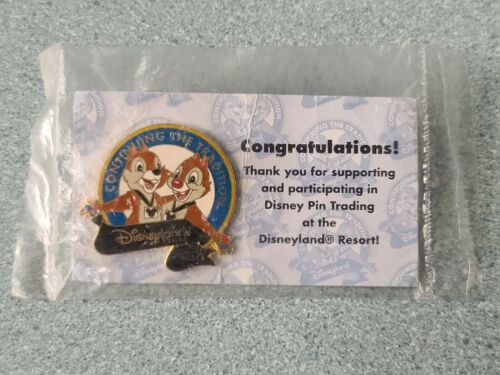 Disney Pin CONTINUING THE TRADITION Disneyland Resort Trading Chip and Dale