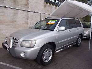 2003 Toyota Kluger Grande Wagon Mitchell Gungahlin Area Preview
