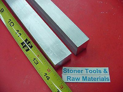 2 Pieces 34 X 1 Aluminum 6061 Flat Bar 14 Long .750 Solid New Mill Stock