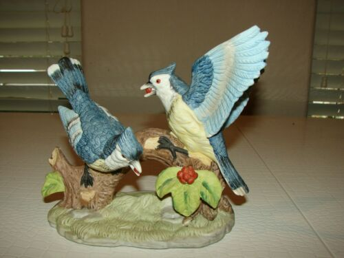 Vintage Wellington Collection Blue Jays Large Ceramic Decoration
