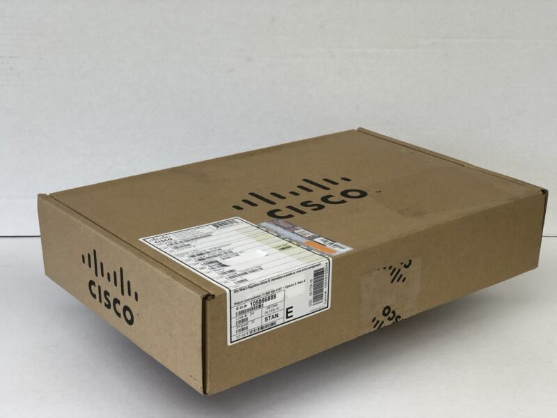 *new Sealed* Cisco Pwr-4450-ac Ac Power Supply For Cisco Isr 4450 And 4350