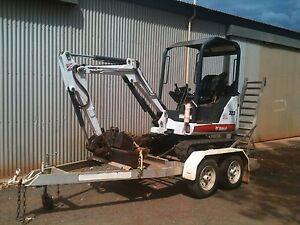 Excavator 323 Bobcat Gnangara Wanneroo Area Preview