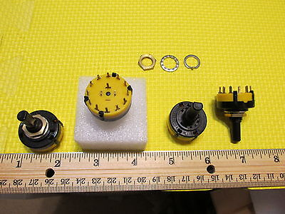Rotary Switch Stackpole 1 Pole 2 To 12 Throw Position Adjustable Quantity Of 1