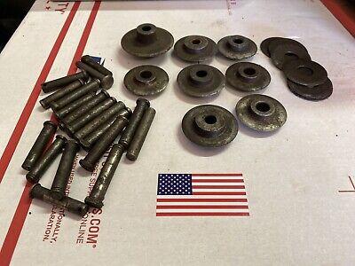 25pc Ridgid Cutter Wheel Pin Assortment Repair Parts See Pics Ed4u 7297