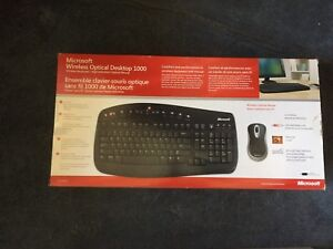 Microsoft keyboard and mouse- brand new in box