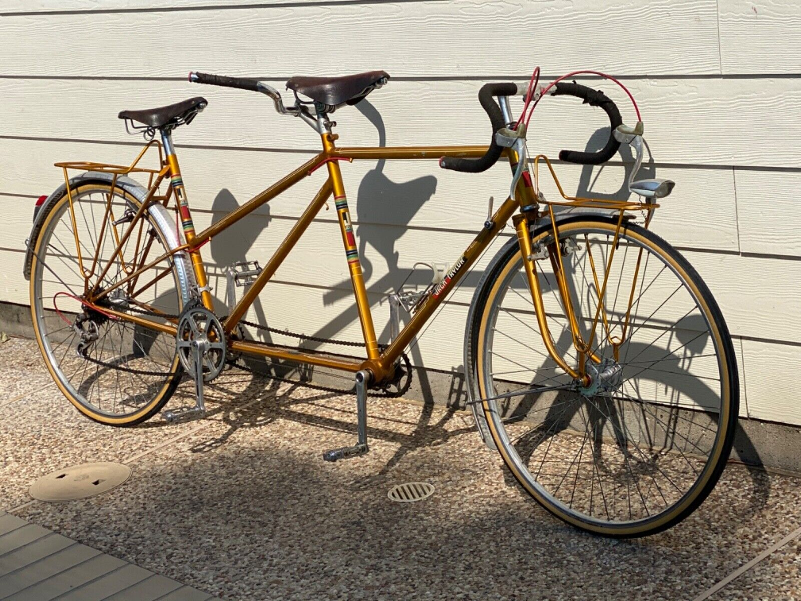 1975 Jack Taylor Bicycle  Tandem Model Tourist 531 Reynolds Butted Tubes SN 6891 (2400 USD)