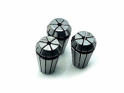 Us Stock 3x Er16 3mm Spring Collet Set For Cnc Engraving Machine Milling Lathe