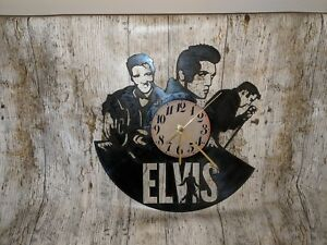 Elvis Presley Vinyl Record Clock home decor gift