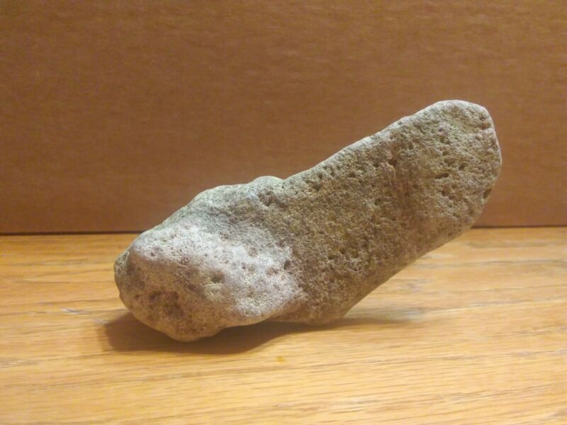 natural formed stone shaped penis found in Ozark stream