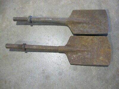 Jack Hammer Clay Spade Scoop Shovel Chisel Bit Hex Shank Demolition Hammer