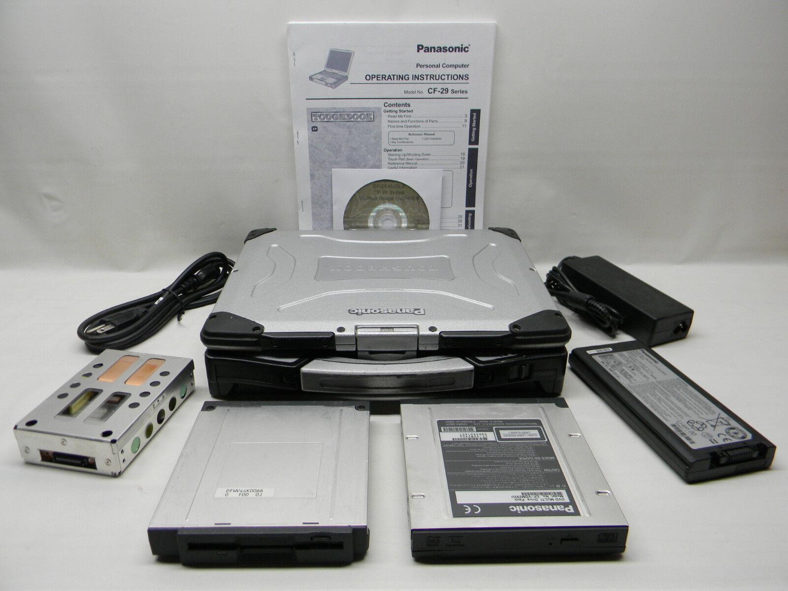 Panasonic CF-29 Toughbook Commercial/Industrial Laptop XP Pro #686