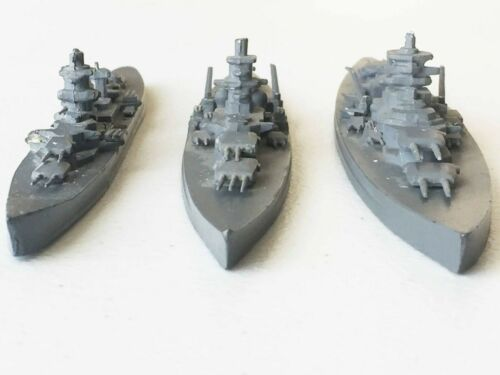 WW2 German Warships Tirpitz, Sharnhorst, Admiral Hipper, ship recognition models