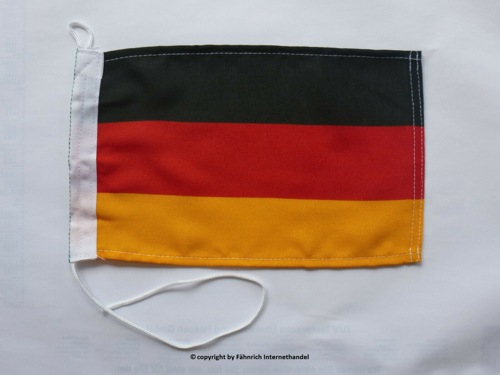 FLAGGE FAHNE BOOT SCHIFF BOOTSFLAGGE DEUTSCHLAND BRD BOOTSFAHNE 20 x 30 robust