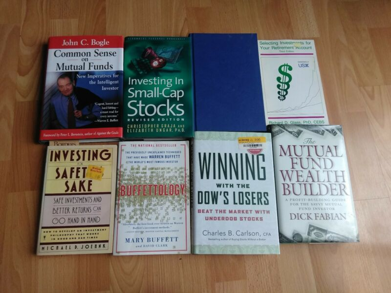 Lot of 8 Mutual Fund Stock Market Books - Pre-Owned Condition - Free Shipping!