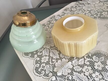 Two Art Deco Light  Fitting Ormond Glen Eira Area Preview