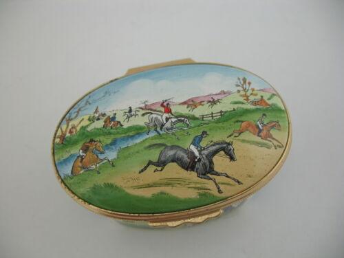 Large(r) Halcyon Days Box: Hunting, Fishing, Horses, Boats, Ships, Fox, Pheasant