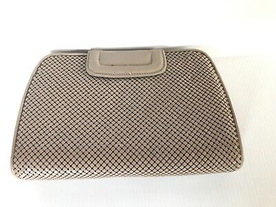 Whiting & Davis Co. Metal Mesh Purse Shoulder bag Clutch Davis Metal Mesh Clutch