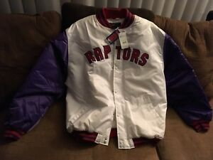 Manteau neuf Raptor officiel NBA
