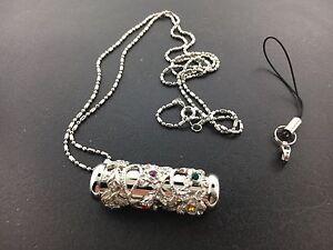 Kaleidoscope Pendant Necklace on a 28