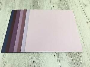 Scrapbooking/Cardmaking 14 sheets 12x12 Bazzill Basics Cardstock Birkdale Redland Area Preview