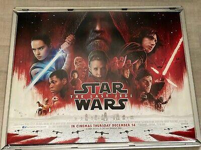Star Wars The Last Jedi Original Quad Cinema Poster. Version 2