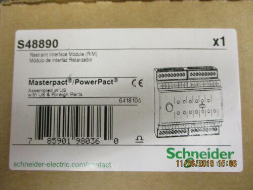 Schneider Electric - S48890 - CIRCUIT BREAKER INTERFACE MODULE 120V