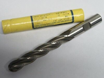 Doall Greenfield 12 X 3 Extra Long Length 4 Flutes Ball Nose End Mill Usa