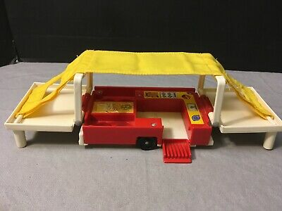 Vintage Fisher Price Little People Pop Up Camper 992
