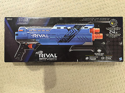 New Team Blue Nerf Rival Atlas XVI-1200 Toy Gun
