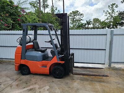 Toyota Forklift 7fgcu30 7fgcu32 2003
