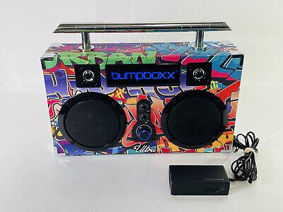 Graffiti Ultra Bumpboxx Bluetooth Portable Boombox Guaranteed to work perfect