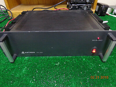 Astron Rm-35a Rack Mount Motorola Kenwood Radio Repeater Power Supply Bs