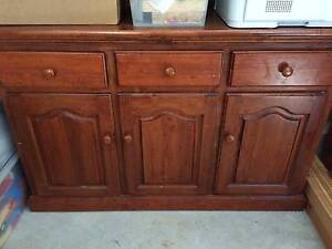 Timber sideboard - good condition Wentworth Falls Blue Mountains Preview