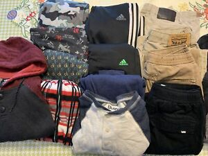 Bundle of Boys Clothes.  Size Boys L and XL. (12-14 yrs old)