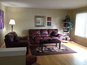 Fully furnished 3 bedroom suite with private entrance