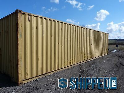 We Deliver Used 40ft High Cube Shipping Container Home Storage In South Carolina