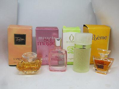 France Lancome mini Eau de Toilette EDT & EDP perfume set H 18Oct5-P