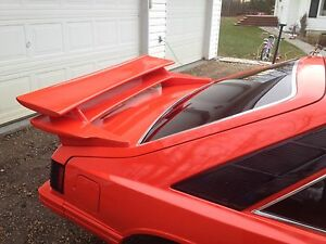 Rear wing/spoiler & hatch off a 1980 Capri Strathcona County Edmonton Area image 4