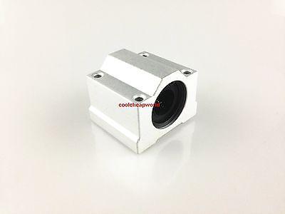 4pcs Sc16uu Scs16uu 16mm Linear Ball Bearing Linear Motion Bearing Slide For Cnc