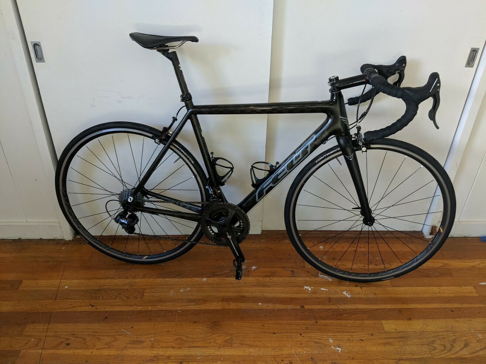 Still not giving it away...2016 Felt F1, Size 56cm Campy Super Record, more