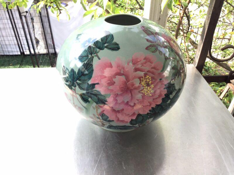 Chinese Large Flower Vase