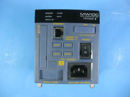 Yokogawa Data Acquisition Unit -- MW100-E-ID S3, SL3 -- Used