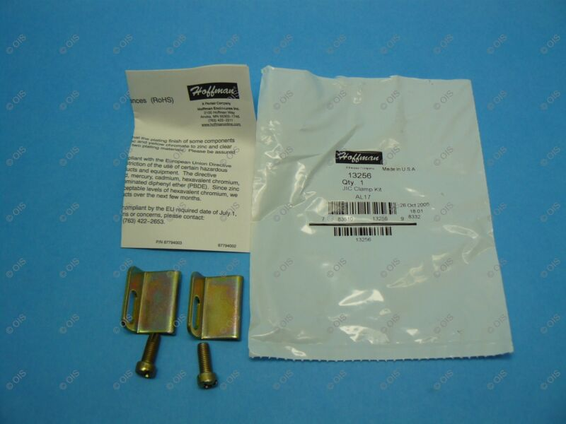 Hoffman 13256 AL17 JIC Door Clamp Kit For A51 Junction Box Steel