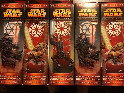 Star Wars Miniatures Revenge of the Sith Booster Pack - 1 Random Sealed Pack