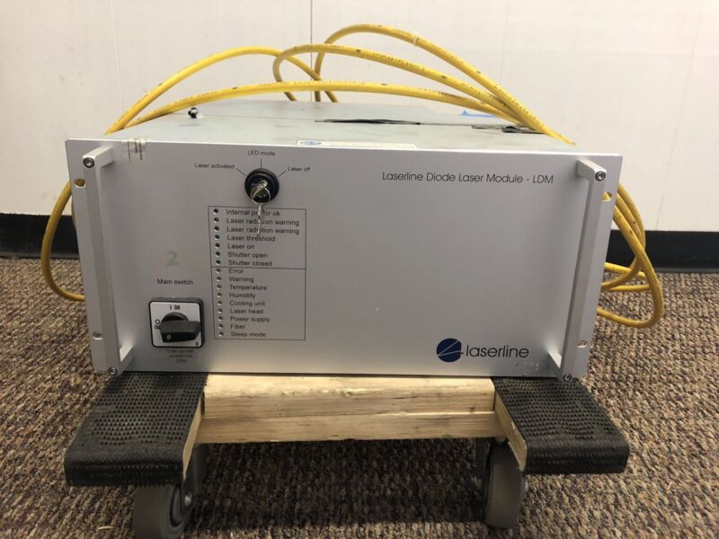 LaserLine Diode Laser Module- Untested- LaserLine Diode Laser- Freight Shipping