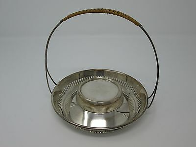 Pairpoint Silver plate Basket EPNS 02000 circa 1920 Antique