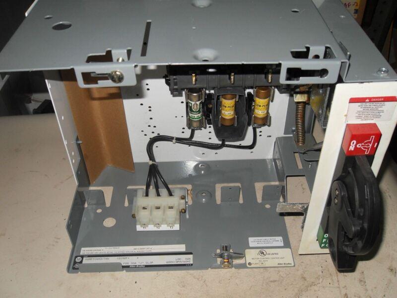 (o4-4) Allen Bradley 2192f-bjc-24r Motor Control Bucket  Disconnect