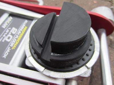 FORD FIESTA MK7 MK8 2008-2017 JACKING TOOL TROLLLEY JACK PAD ADAPTER - Rubber